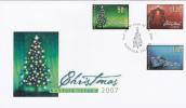 Norfolk Island-2007 Christmas FDC - Norfolk Island