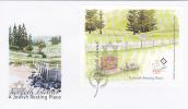 Norfolk Island-2008 A Jewish Resting Place Souvenir Sheet FDC - Norfolk Island