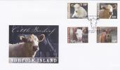 Norfolk Island-2008 May  Cattle FDC - Norfolk Island