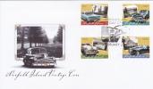 Norfolk Island-2008 Vintage Cars FDC - Norfolk Island
