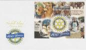Norfolk Island-2005 100 Years Of Rotary MS  FDC - Norfolk Island