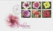 Norfolk Island-2005 Hibiscus FDC - Norfolk Island