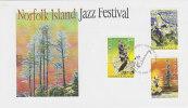 Norfolk Island-2005 Jazz Festival FDC - Norfolk Island