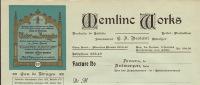 Parfum Eau De Bruges Memlic Works à Anvers - Belgium