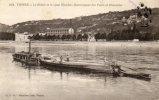 CPA - 38 - VIENNE - Le Rhône Et Le Quai Riondet - Remorqueur Des Ponts Et Chaussées - 261 - Vienne