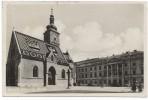 CROATIA  - ZAGREB, Church Of St. Mark, 1939. - Kroatië