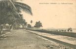 Guinée, CONAKRY : 13 Boulevard Circulaire . 2 Scans. Ed Desgranges - French Guinea