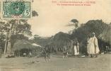 Guinée : Un Campement Dans Le Fouta. Afrique Occidentale. 2 Scans. Ed Fortier 680 - French Guinea