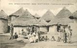 Intérieur De Village Malinké. Soudan Haut Niger. Afrique Occidentale. 2 Scans. Edition Fortier 1124 - French Guinea