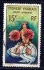 Polynésie - Danseuse Tahitienne -YT PA 7 Obl. - Aéreo