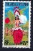 Polynésie - Danseuse De Tahiti -YT PA 124 Obl. - Poste Aérienne