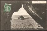 Cpa CAROLLES (50) La Petite Grotte De La Plage  (bon Etat) - Andere Gemeenten