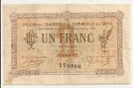 CHAMBRE DE COMMERCE DU TARN UN FRANC  CP4782 - Handelskammer