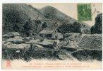 CHINE - YUNNAN - NAM-THI - BRIQUETTERIE, PRES DE LA VOIE EN CONSTRUCTION, KILm 19 - China