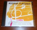 Cd Musique Classique Orff Handel Bach Mozart Mendelssohn Brahms - Classique