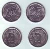 Brazil 2 Coins 25 Centavos 1994-1995 - Brésil