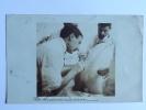 TRES RARE - CPA Sur Une Intervention Sur Le RACHIS ( Carte Photo).1909 - Santé