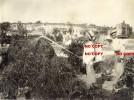 ENORME FOTO  BONIFICA CON  OPERAI  DELLA  CROCE ROSSA  ZONA AGRICOCOLTORE   BARLETTA E TRANI  BARI  22  X 17 - Luoghi