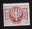 Poland, Scott #168, Mint Hinged, Polish Eagle, Issued 1923 - 1919-1939 Republic