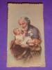Eb 2 / 103 - S.Giuseppe Con Gesù Bamb.- Santino Vecchio - Images Religieuses