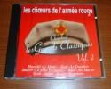 Cd Les Choeurs De L´Armée Rouge D´Alexandrov Chantent Les Grands Classiques Volume 2 - Musik & Instrumente