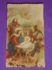 Eb 2 /153 - Gesù Bambino, S.Giuseppe, Maria, Pastori, Presepio, Natale - Santino Vecchio - Images Religieuses