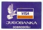 Pocket Calendars - Yugoslavia - Tamaño Pequeño : 1981-90