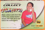 MICRONESIA - Remote Memory 10$ Card, USA 872, Used As Scan - Micronesië