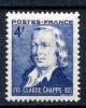 FRANCE- 1944 - YT 619 - Sesquicentenaire Télégraphe Optique - N** - Neufs
