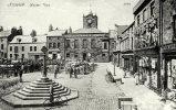 Alnwick, Market Place - England