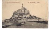 CP, 50, Le Mont-Saint-Michel, Côté Sud, Pris De La Digue, écrite - Le Mont Saint Michel