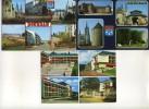 3 CPM - DOURDAN (91) Multivues (chateau - Plade De La Halle - Aglise - Maison De Retraite - ...) - Dourdan