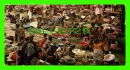 ABIDJAN, CÔTE D´IVOIRE - LE MARCHÉ DE TREICHVILLE - PHOTO, J.C. NOURAULT - DIMENSION 10.5 X 21cm - - Côte-d'Ivoire