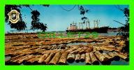 ABIDJAN, CÔTE D´IVOIRE - PARC À BOIS - PHOTO, J.C. NOURAULT - DIMENSION 10.5 X 21cm - - Côte-d'Ivoire