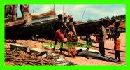 CÔTE D´IVOIRE - RETOUR DE LA PÊCHE - PHOTO, J.C. NOURAULT - DIMENSION 10.5 X 21cm - - Côte-d'Ivoire