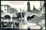 """CPA. GUERRE EN  LORRAINE EN 1914. LUNÉVILLE. """" Ponts Détruits Par Les Allemands ... 12 Septembre 1914."""" - Guerra 1914-18"""