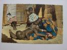 Carte Postale - AFRIQUE - Vieille Medecine , Lavement De Bébé (20/280) - Non Classés
