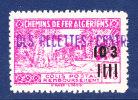 ALGERIE COLIS POSTAUX N° 172 Neuf ** Sans Charnière, TB, Cote: + 1.60 € - Parcel Post