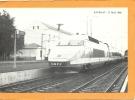44  SAVENAY     LE  31  MAI   1986  TGV OFFICIEL EN GARE DE SAVENAY  A 11H  15  INAUGURATION  DE LA  LIGNE ELECTRIQUE - Savenay