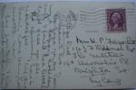 1935 U.S.A. POSTCARD HARWICH PORT TO BRIGHTON ENGLAND - Cape Cod