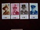 GB 1974 Sir.WINSTON CHURCHILL Birth Centenary Issue 9th.October MNH Full Set Four Stamps To 10p. - 1952-.... (Elizabeth II)