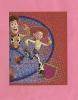 *  Image PANINI Autocollante N°100 : Holographique :  Le Monde Magique De DISNEY - Disney