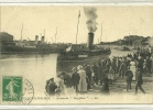 BOULOGNE SUR MER  ARRIVEE DU KINGFISHER  GRANDE ANIMATION PERSONNAGES SUR QUAI - Boulogne Sur Mer
