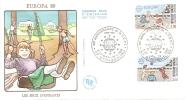 1989  Enveloppe Premier Jour Fdc EUROPA - 1980-1989
