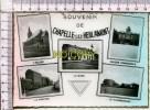 CHAPELLE LEZ HERLAIMONT  -  Souvenir -  5 Vues  : L'Eglise, La Cantine, La Gare, Maison Communale, Le Charbonnage - Chapelle-lez-Herlaimont