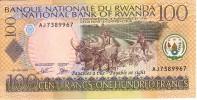 RWANDA   100 Francs  Daté Du 01-09-2003   Pick 29b     ***** BILLET  NEUF ***** - Rwanda
