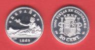 ¡¡¡VERY RARE!!! España/Gobierno Provisional  20 Céntimos 1.869#6-9 KM#650(Y55) UNC DL-10.035 Can REPLICA - [ 1] …-1931 : Royaume