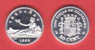 ¡¡¡VERY RARE!!! España/Gobierno Provisional  20 Céntimos 1.869#6-9 KM#650(Y55) UNC DL-10.035 Hol REPLICA - Munten & Bankbiljetten