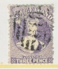 New Zealand 33  Perf 12 1/2  (o) - 1855-1907 Crown Colony