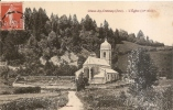 ANCIENNE CPA CHAUX DES CROTENAY L'église - Francia